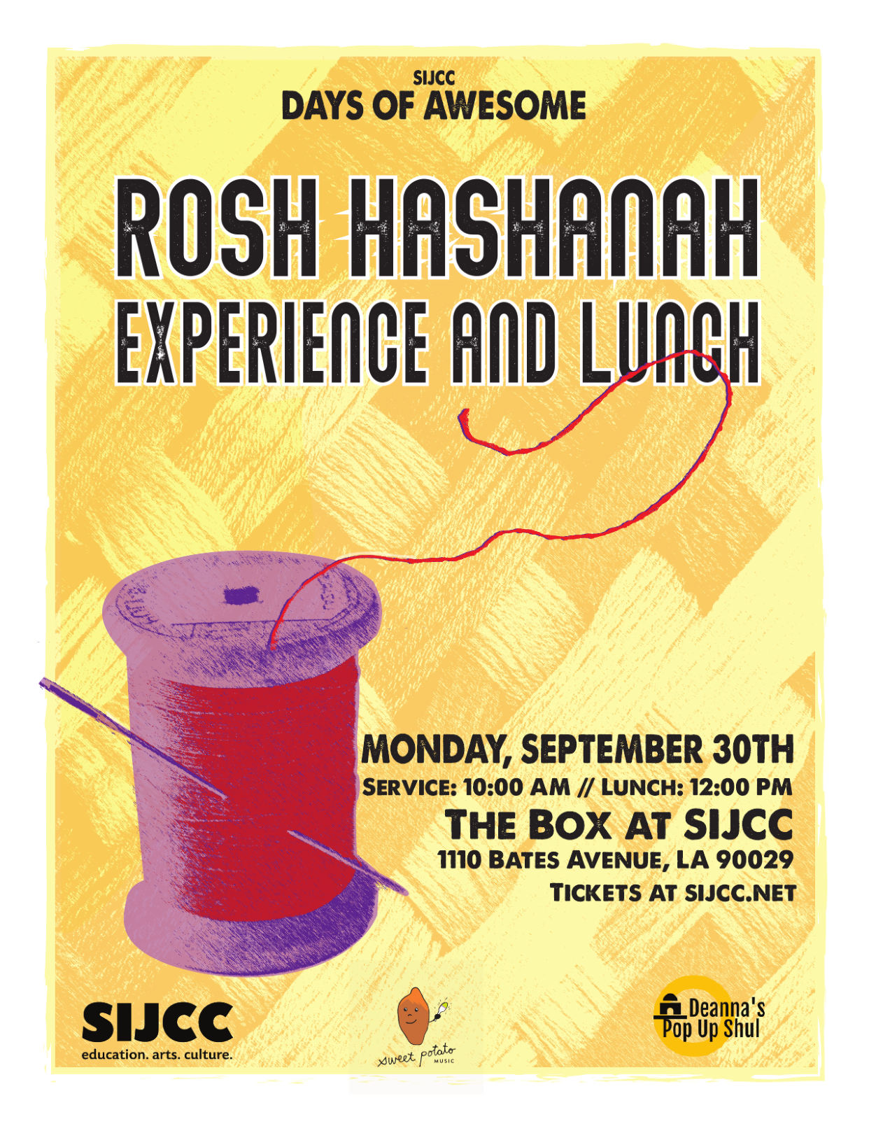 SIJCC's Days of Awesome: Rosh Hashanah Experience and Lunch image 1