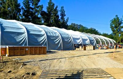 Los Feliz homeless shelter under construction