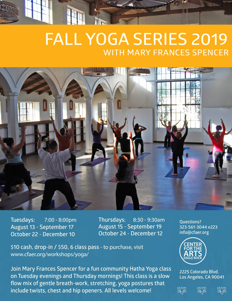 FALL YOGA SERIES 2019