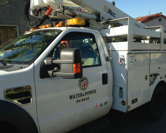 Echo Park hit by Sunday night power outage