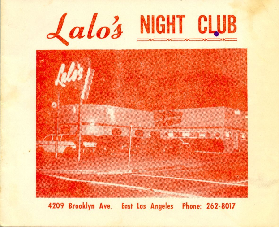 Lalo's Night Club Red Cover image