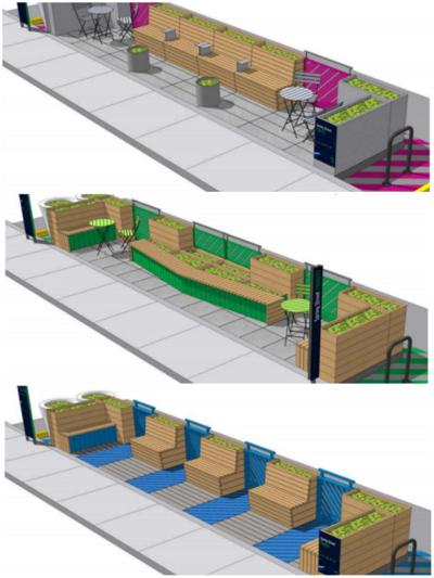 New parklet in the works for Highland Park