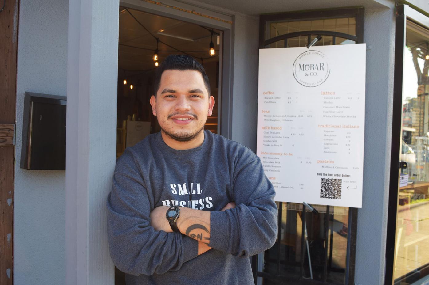 Mobar - Luis Moreno, owner,