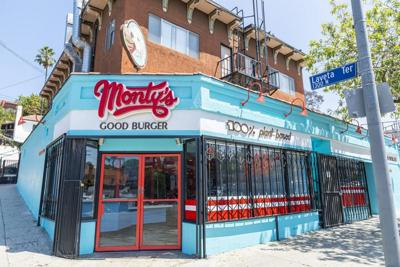 Monty's Good Burger Echo Park