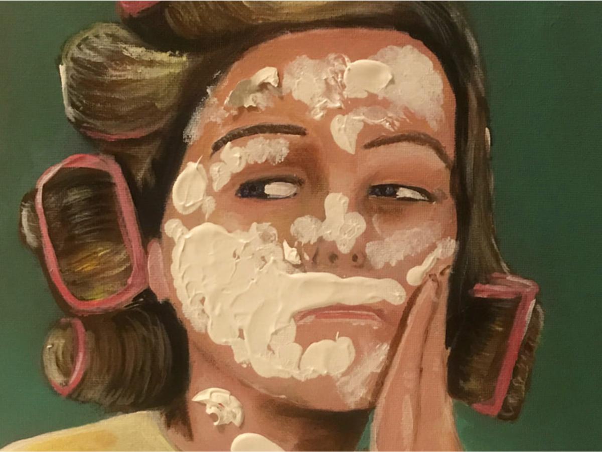 Marcia Brady Painting