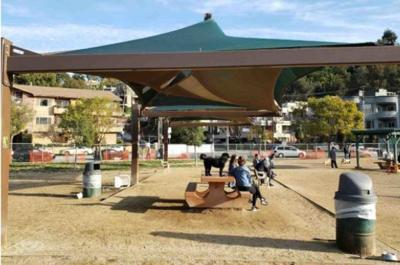 More shade on the way for the Silver Lake Dog Park