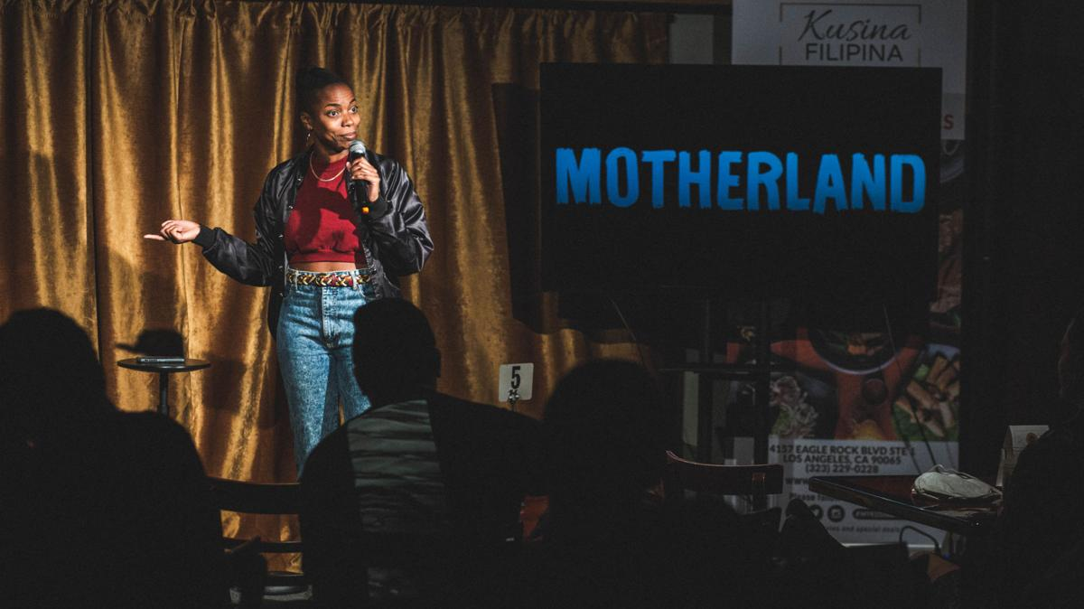 Sasheer Zamata (SNL) and Motherland