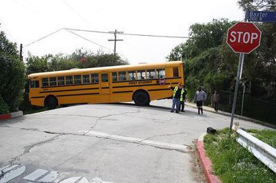 Baxter Street bus stop