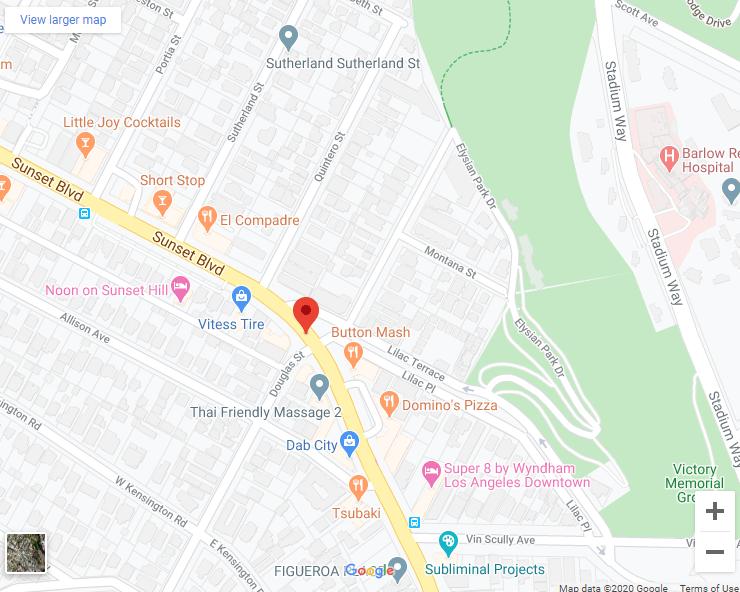 Google map of Sunset and Douglas