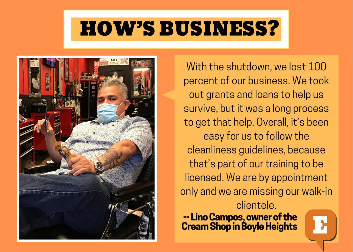 How's Business Lino Campos The Cream Shop.jpg