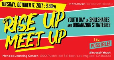Bulletin Board: Rise Up, Meet Up: Youth Day of Skillshares & Organizing