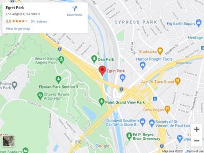 Egret Park Map