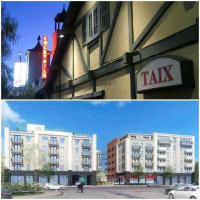 Taix before and after