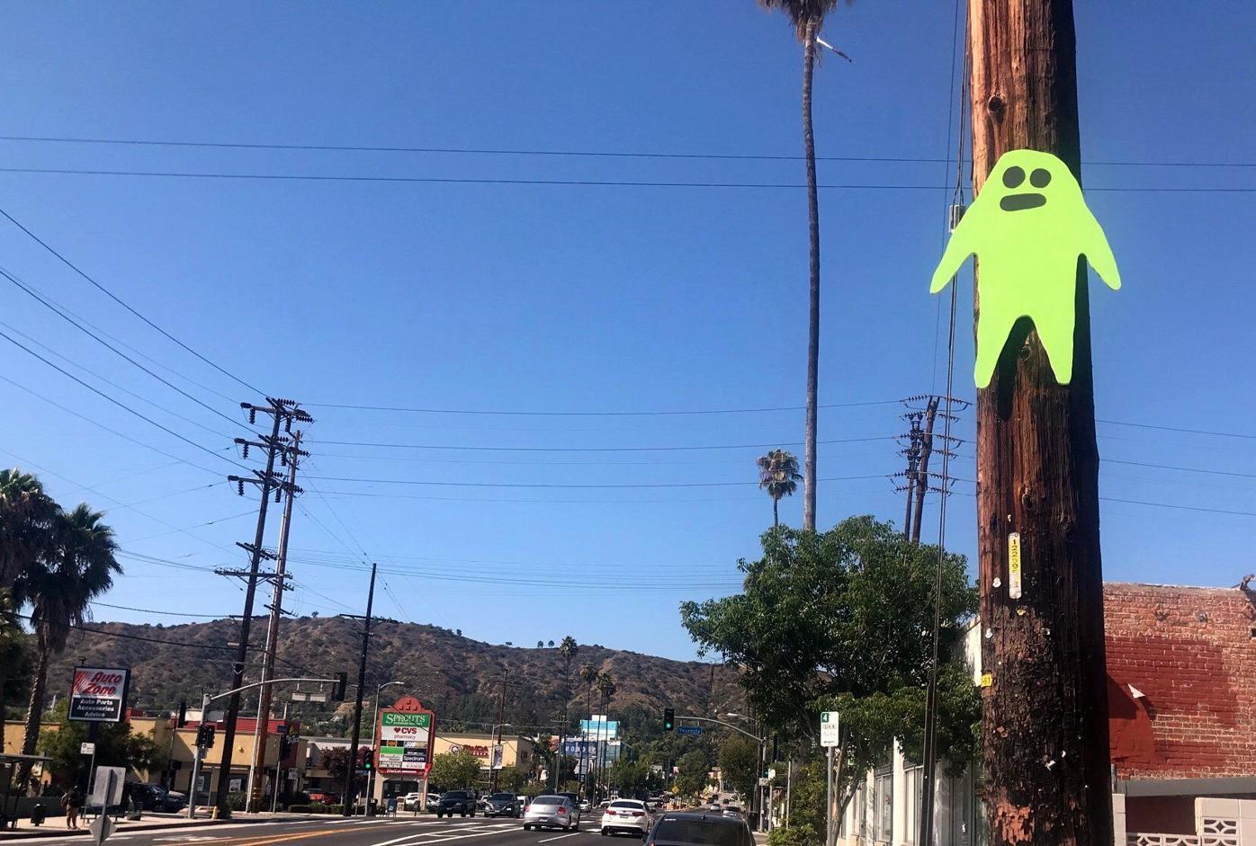 Ghost on Eagle ROck Blvd