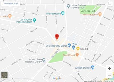 6155 York Blvd Map