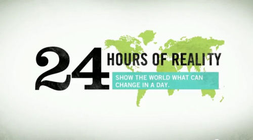 24 Hours of Climate Reality