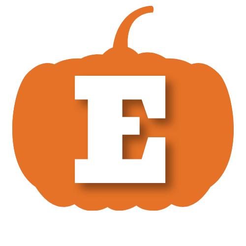 Fall fundraiser pumpkin logo