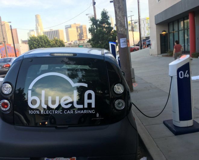 Electric-car sharing service gets ready to switch on in Echo Park and East Hollywood