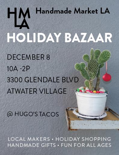 Handmade Holiday bazaar ad
