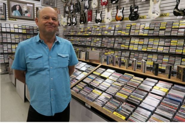 How Wayne Johnson has kept Silver Lake's Rockaway Records in the groove for nearly 40 years