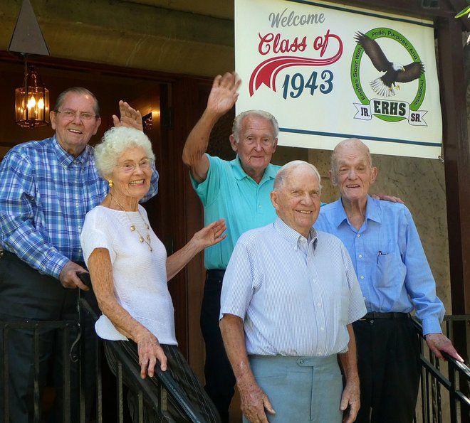 Eagle Rock High's Class of '43 gathers for its 75th reunion