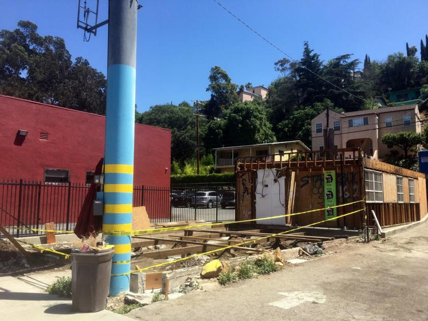 Silver Lake Boulevard storefront gets demoed