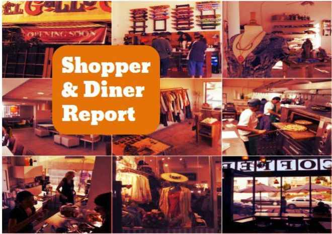 Shopper and Diner collage