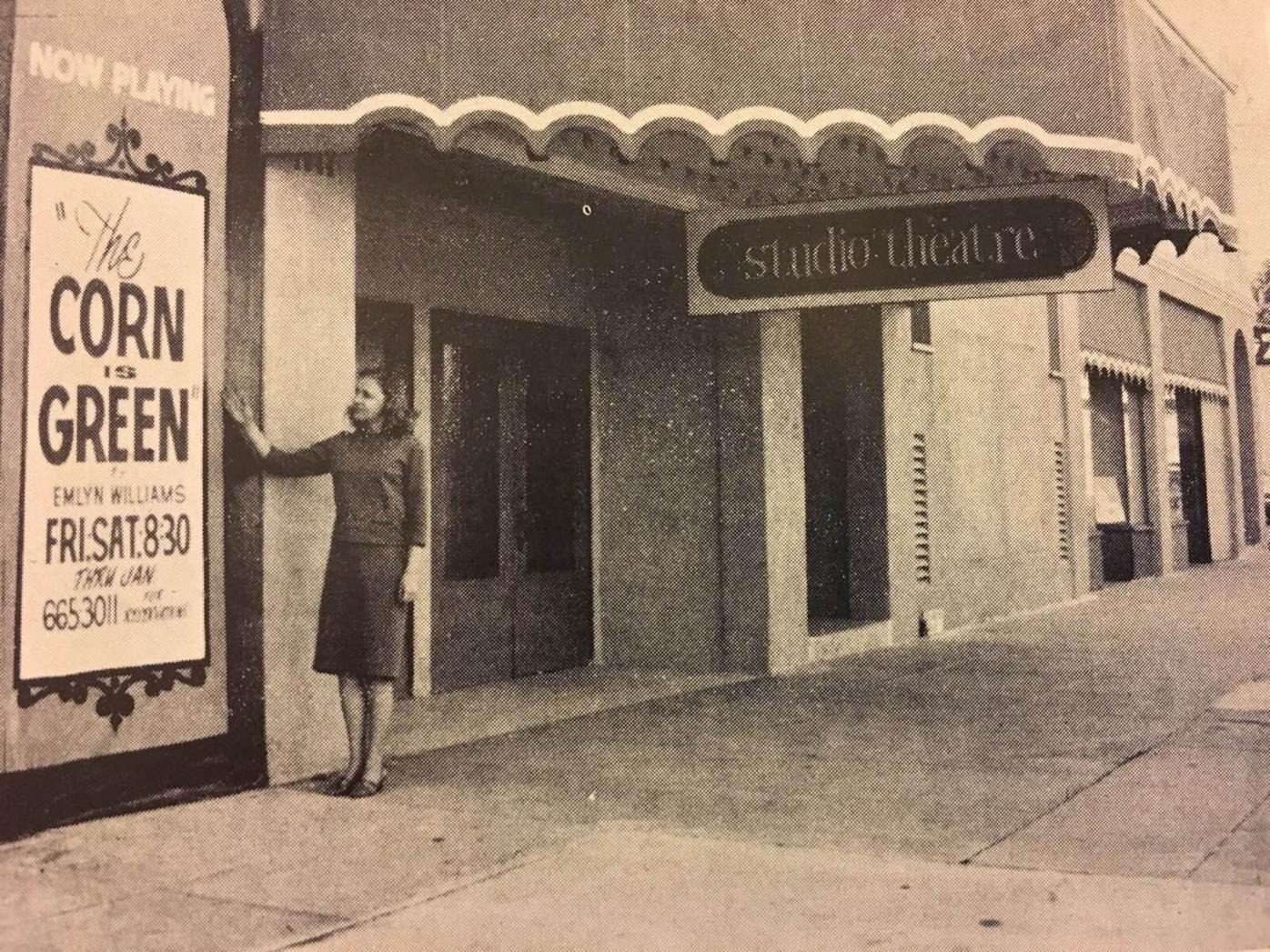Studio Theatre exterior 1965