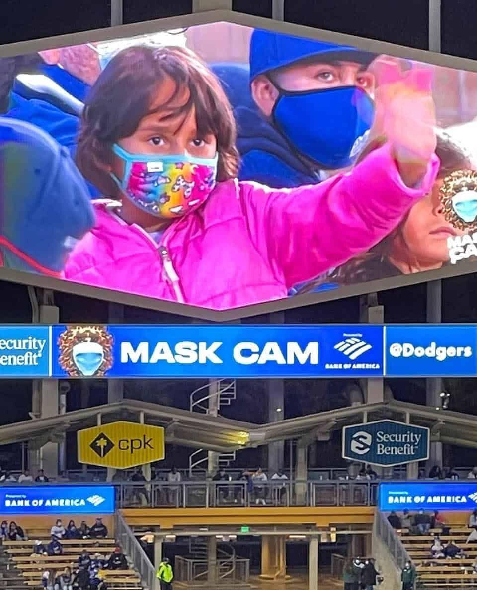 Dodger Mask Cam
