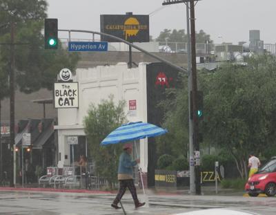 Silver Lake Sunset Junction rain shots jesus sanchez 3-4-2020 4-39-55 PM.JPG