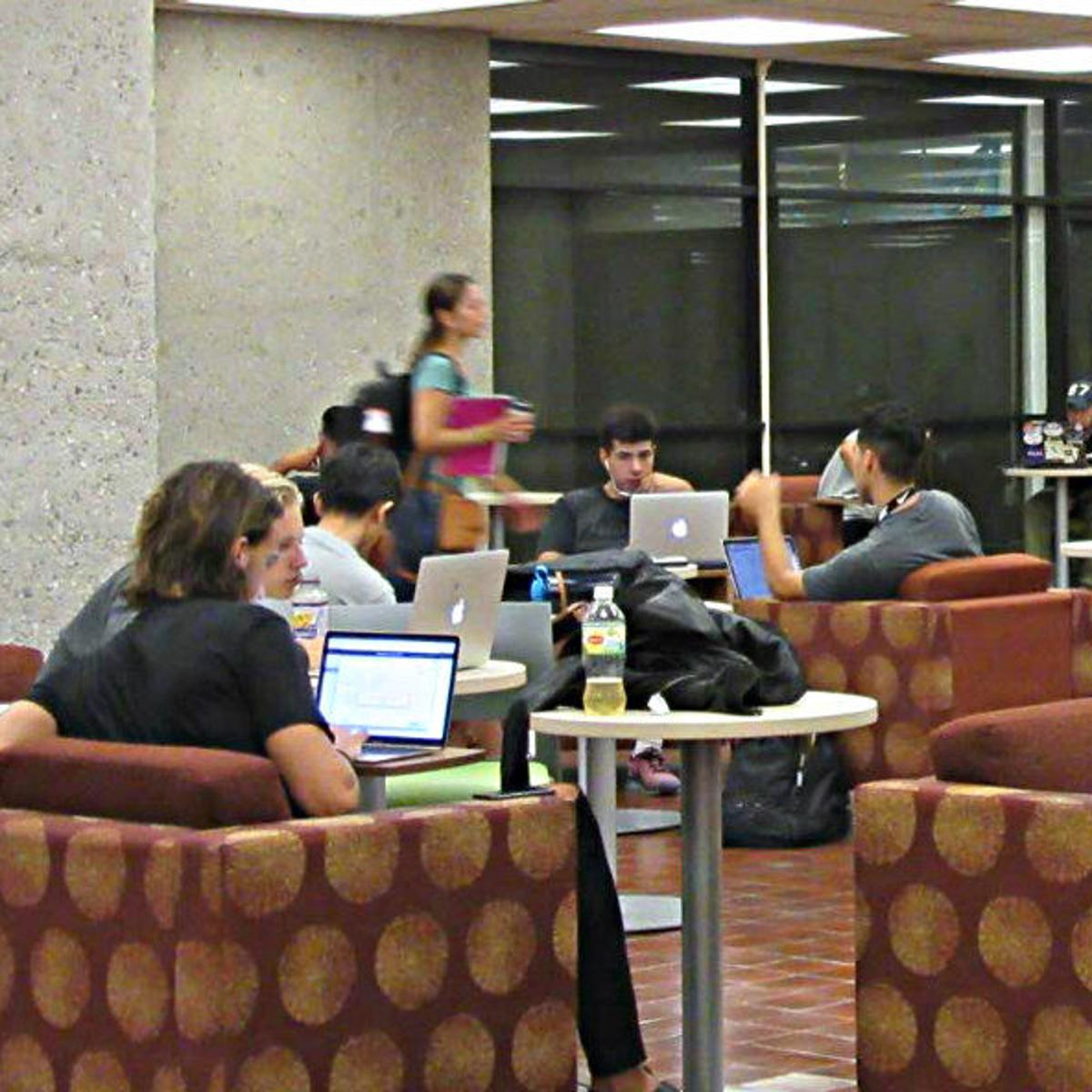Collaboration Coffee Cal State L A Library Adapts To A New Generation Of Students Education Theeastsiderla Com