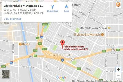 Girl killed and four other pedestrians injured in Boyle Heights crash