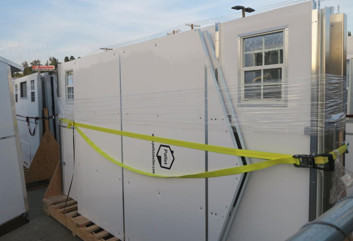 Unpacked Pallet homes Echo Park