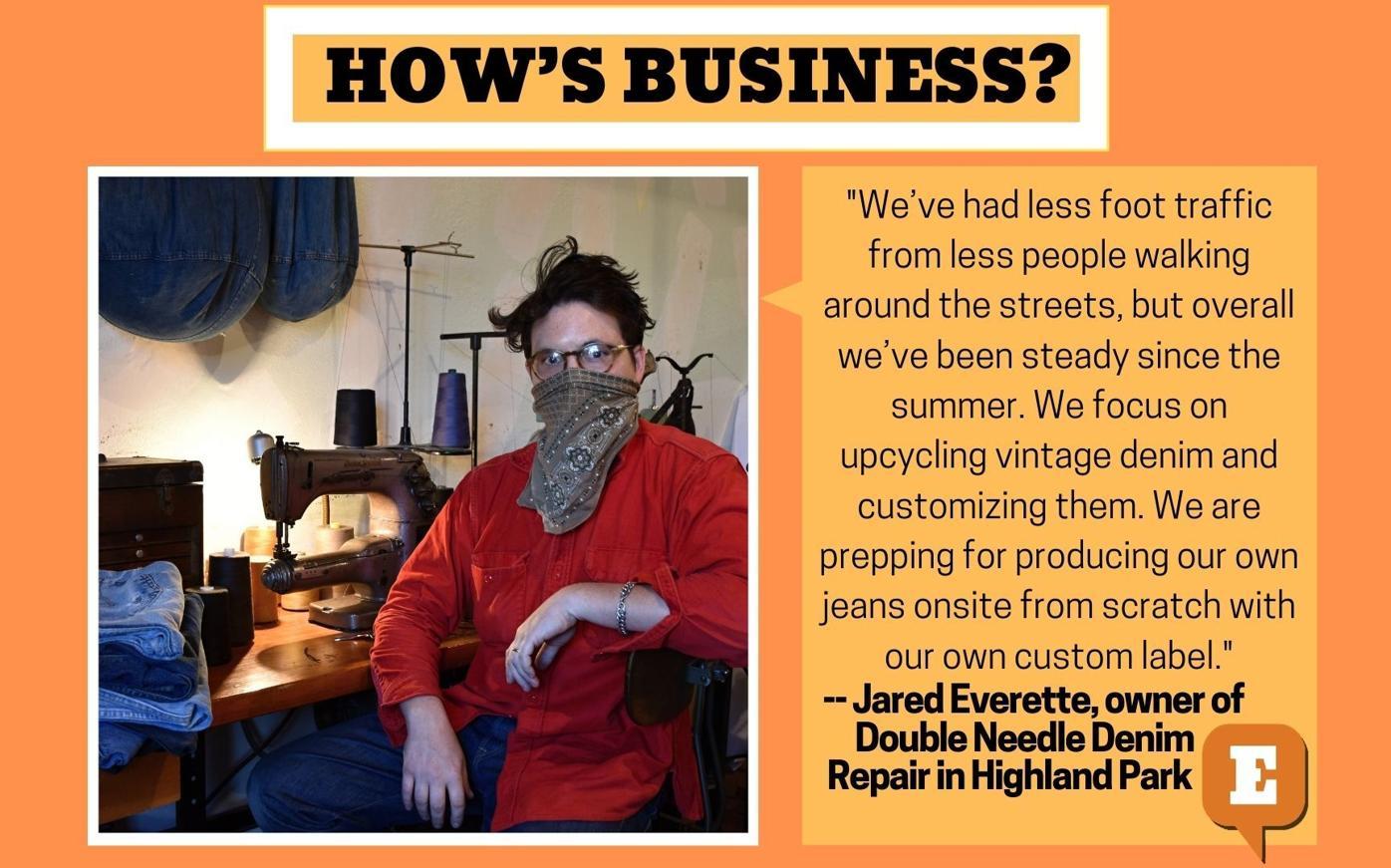 How's Business Denim Repair