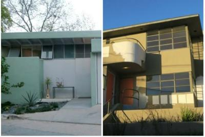 One is famous, the other unknown. But these two Silver Lake homes are now in line to become landmarks