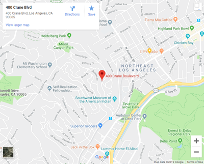 Google map of 400 Crane Boulevard Mount Washington