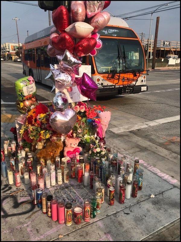 Memorial to Estephany Ocampo Madrigal
