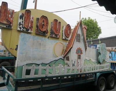 House of Spirits sign in Echo Park Weekly