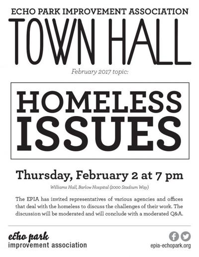 Bulletin Board: Echo Park Town Hall to Focus on Homeless Issues