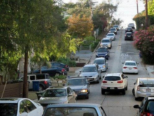 Echo Park's steep streets to be made one-way to combat Waze traffic