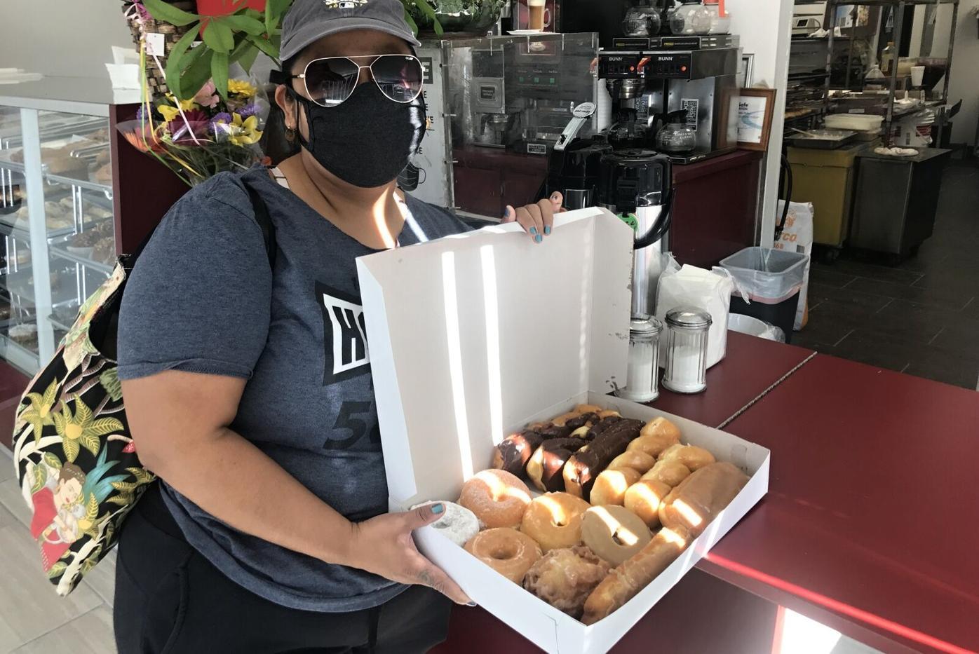 Donut Customer Christy