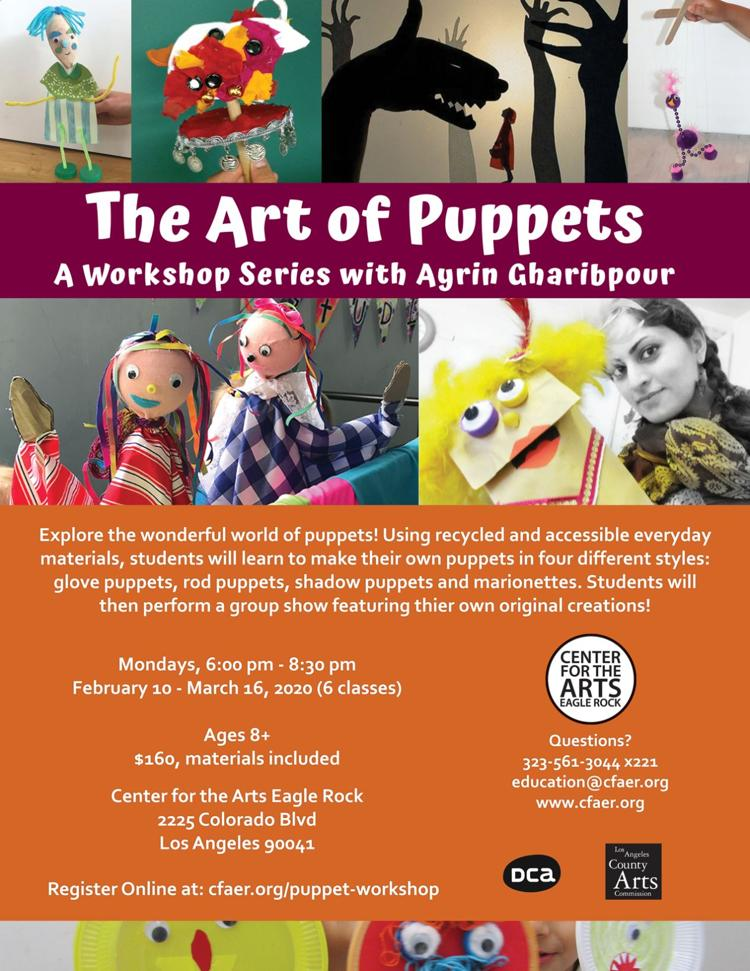 The Art of Puppets with Ayrin Gharibpour