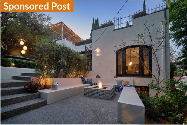 Spectacular entertainer's paradise and private sanctuary in Historic Whitley Heights