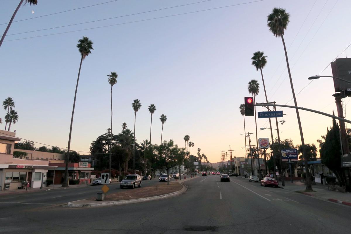 Eagle Rock Boulevard Street Scene
