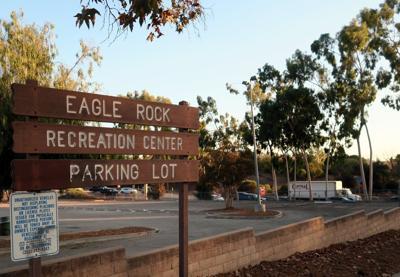 eagle rock recreation parking lot