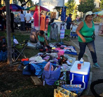 Swap meet vendors return to Echo Park Lake as city considers regulations [updated]