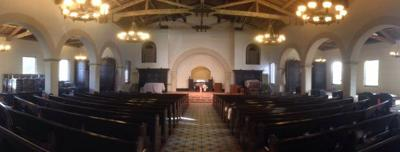 Interior renovation renews an Eagle Rock church but honors its past
