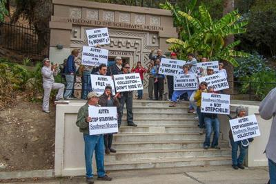 Protesters seek greater payoff from public investment in Southwest Museum