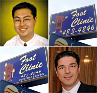 Neighborhood Spotlight: The podiatrists behind Silver Lake's Happy Foot/Sad Foot sign