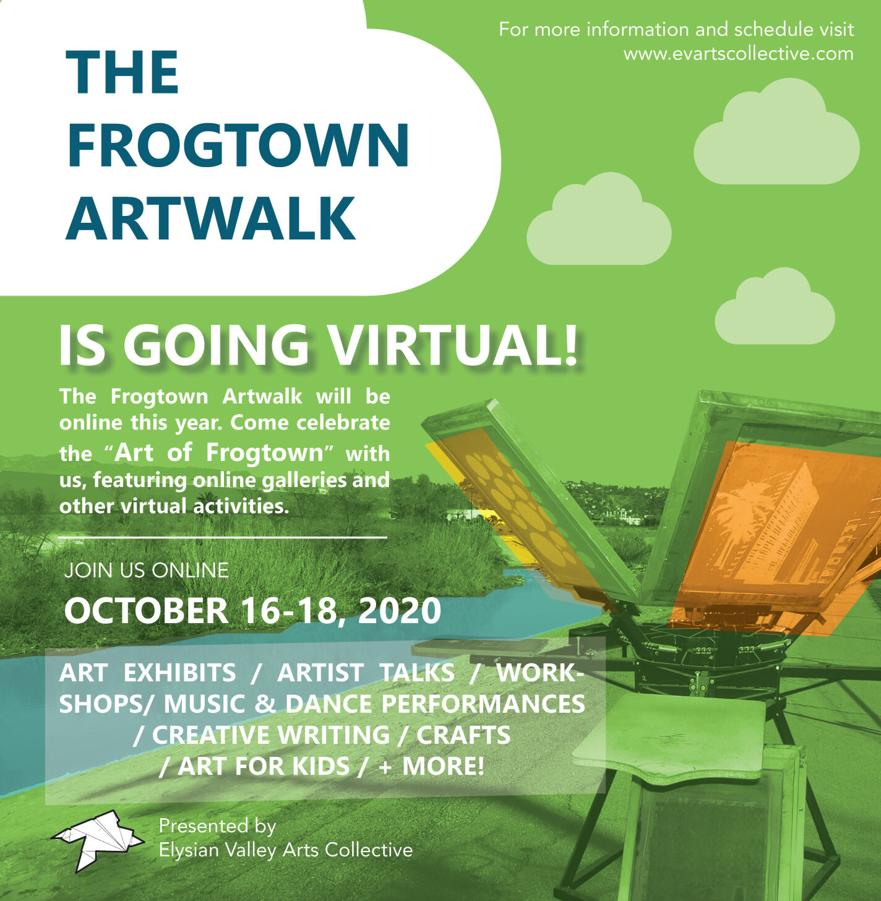 Frogtown Artwalk Flyer